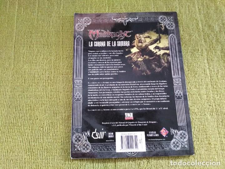 Juegos Antiguos: DUNGEONS & DRAGONS MIDNIGHT LA CORONA DE LA SOMBRA (DEVIR MN002) - Foto 2 - 217837846