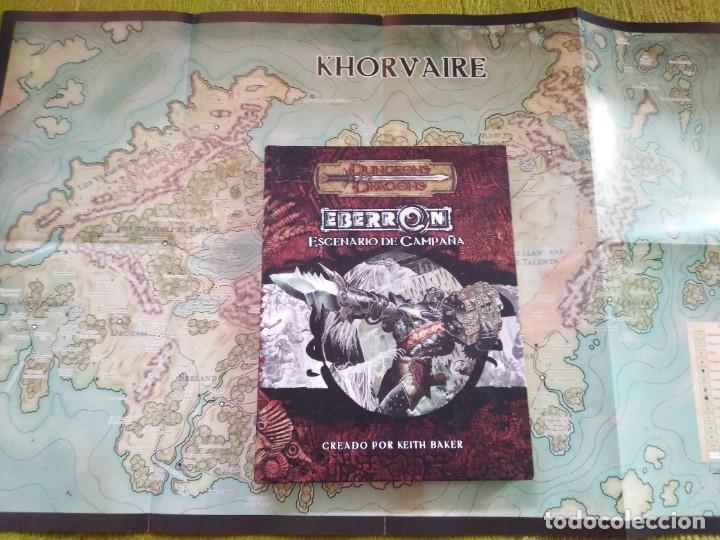 DUNGEONS & DRAGONS EBERRON ESCENARIO DE CAMPAÑA (DEVIR DD4001) - TAPA DURA (Juguetes - Rol y Estrategia - Juegos de Rol)