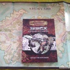 Juegos Antiguos: DUNGEONS & DRAGONS EBERRON ESCENARIO DE CAMPAÑA (DEVIR DD4001) - TAPA DURA. Lote 217840511