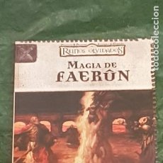 Jogos Antigos: DUNGEONS & DRAGONS REINOS OLVIDADOS MAGIA DE FAERUN (DEVIR DD2002). Lote 217914542