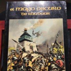 Jogos Antigos: EL MAGO OSCURO DE RHUDAUR-SUPLEMENTO AL JUEGO DE ROL-JOC INTERNACIONAL-1995. Lote 218041461