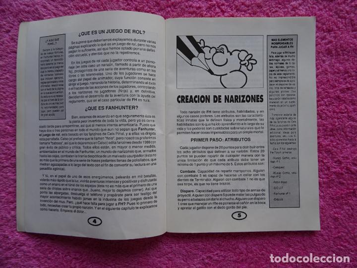 Juegos Antiguos: fanhunter el juego de rol epicodecadente gusa comics 1993 cels piñol chema pamundi - Foto 4 - 218222816