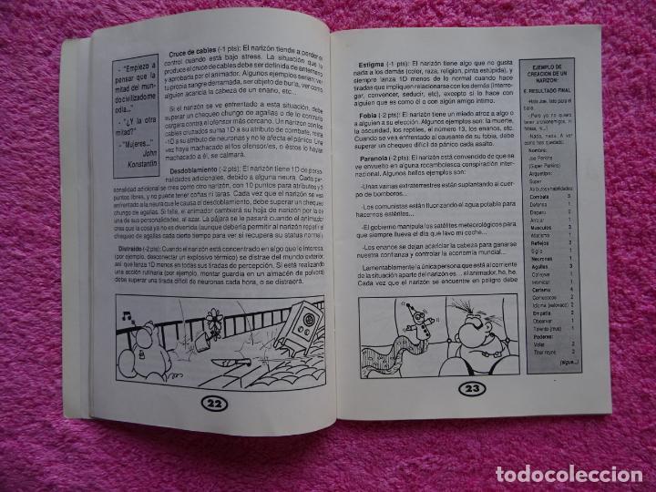 Juegos Antiguos: fanhunter el juego de rol epicodecadente gusa comics 1993 cels piñol chema pamundi - Foto 5 - 218222816