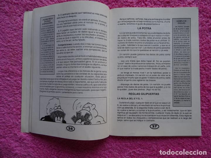 Juegos Antiguos: fanhunter el juego de rol epicodecadente gusa comics 1993 cels piñol chema pamundi - Foto 6 - 218222816