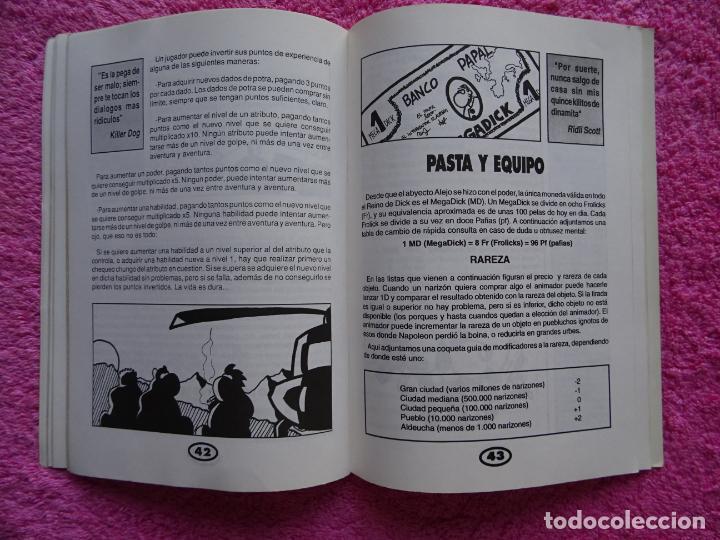 Juegos Antiguos: fanhunter el juego de rol epicodecadente gusa comics 1993 cels piñol chema pamundi - Foto 7 - 218222816