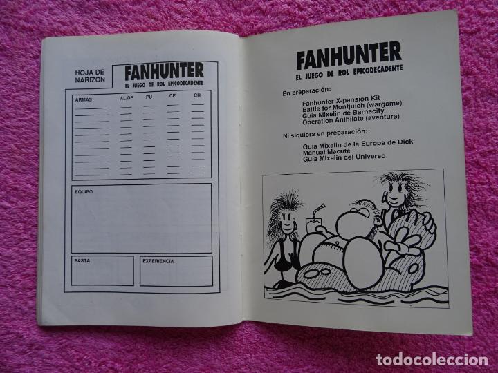 Juegos Antiguos: fanhunter el juego de rol epicodecadente gusa comics 1993 cels piñol chema pamundi - Foto 9 - 218222816