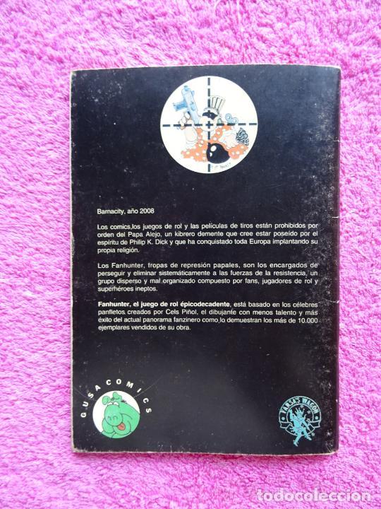 Juegos Antiguos: fanhunter el juego de rol epicodecadente gusa comics 1993 cels piñol chema pamundi - Foto 10 - 218222816