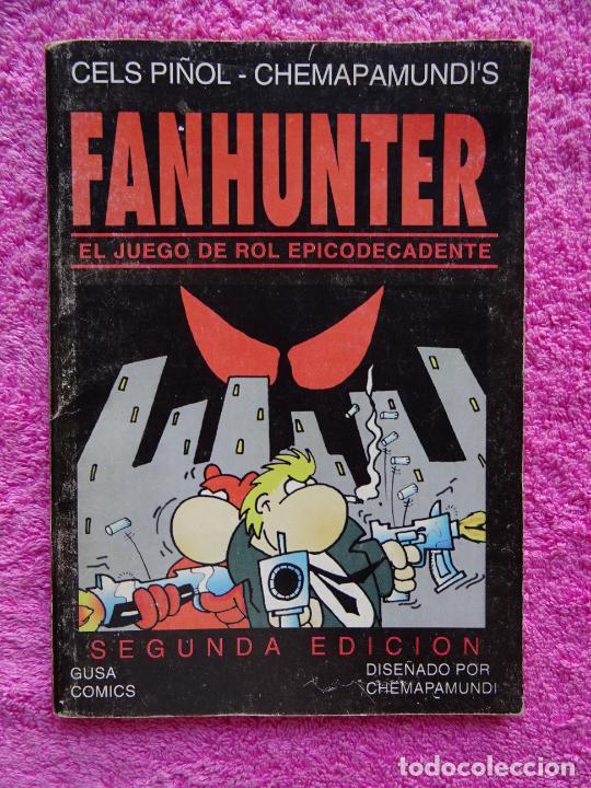 FANHUNTER EL JUEGO DE ROL EPICODECADENTE GUSA COMICS 1993 CELS PIÑOL CHEMA PAMUNDI (Juguetes - Rol y Estrategia - Juegos de Rol)