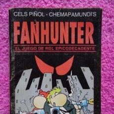 Juegos Antiguos: FANHUNTER EL JUEGO DE ROL EPICODECADENTE GUSA COMICS 1993 CELS PIÑOL CHEMA PAMUNDI. Lote 218222816