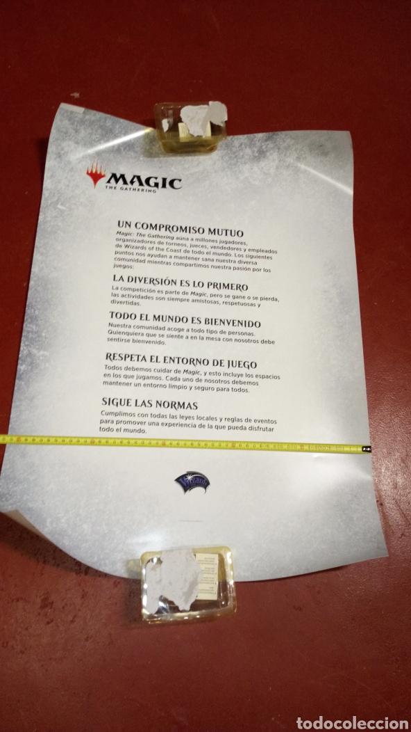 PÓSTER MÁGIC THE GATHERING 73X51 APROXIMADAMENTE INEDITO EN TC (Juguetes - Rol y Estrategia - Otros)