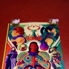 Jogos Antigos: POSTER GRAN TAMAÑO MÁGIC THE GATHERING 90X60 APROX VER FOTOS TIENE RESTOS DE CELO DE HABER ESTADO CO. Lote 218223806