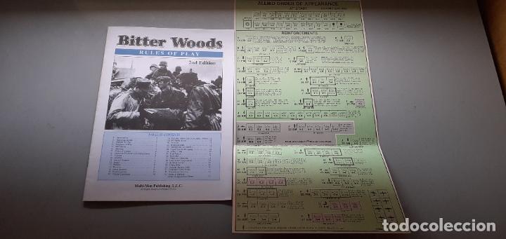 REGLAMENTO BITTER WOODS (Juguetes - Rol y Estrategia - Otros)