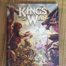 Juegos Antiguos: KINGS OF WAR - EL JUEGO DE BATALLAS DE FANTASIA - TAPA DURA - GCH1. Lote 218572320