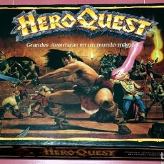 Giochi Antichi: HERO QUEST GRANDES AVENTURAS EN UN MUNDO MAGICO JROL MB JUEGOS 1989 / BATTLE MASTERS CRUZADA ESTELAR. Lote 218649700