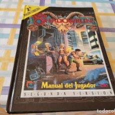 Juegos Antiguos: SHADOWRUN MANUAL DEL JUGADOR SEGUNDA VERSION ED. ZINCO 1994 RECOGIDA GRATIS EN MALLORCA. Lote 219404948