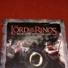 Juegos Antiguos: EN INGLÉS THE LORD OF THE RINGS ROLEPLAYING ADVENTURE GAME SEÑOR ANILLOS ROL ESTRATEGIA. Lote 219478165