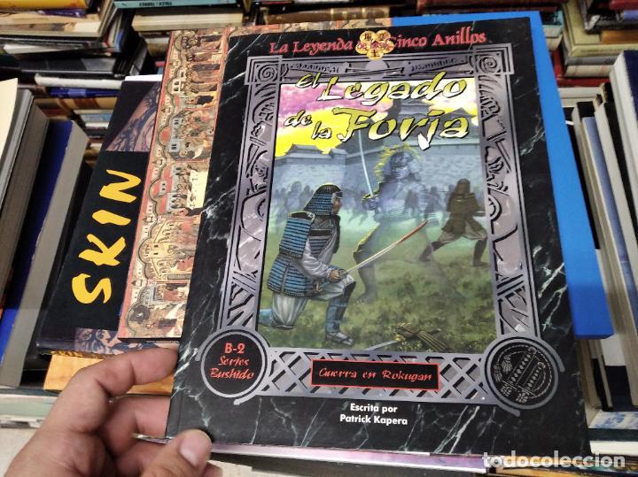 Juegos Antiguos: LA LEYNADA DE LOS CINCO ANILLOS. EL LEGADO DE LA FORJA. GUERRA EN ROKUGAR. PATRICK KAPERA - Foto 2 - 219563663