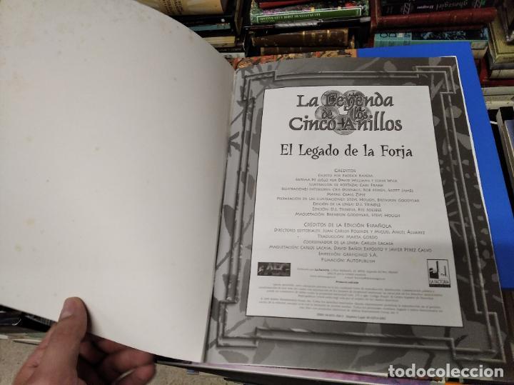 Juegos Antiguos: LA LEYNADA DE LOS CINCO ANILLOS. EL LEGADO DE LA FORJA. GUERRA EN ROKUGAR. PATRICK KAPERA - Foto 3 - 219563663