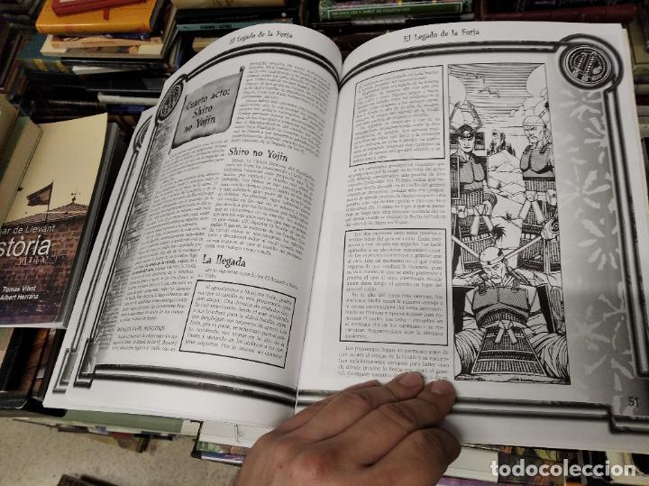 Juegos Antiguos: LA LEYNADA DE LOS CINCO ANILLOS. EL LEGADO DE LA FORJA. GUERRA EN ROKUGAR. PATRICK KAPERA - Foto 8 - 219563663