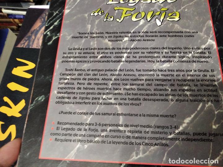 Juegos Antiguos: LA LEYNADA DE LOS CINCO ANILLOS. EL LEGADO DE LA FORJA. GUERRA EN ROKUGAR. PATRICK KAPERA - Foto 11 - 219563663