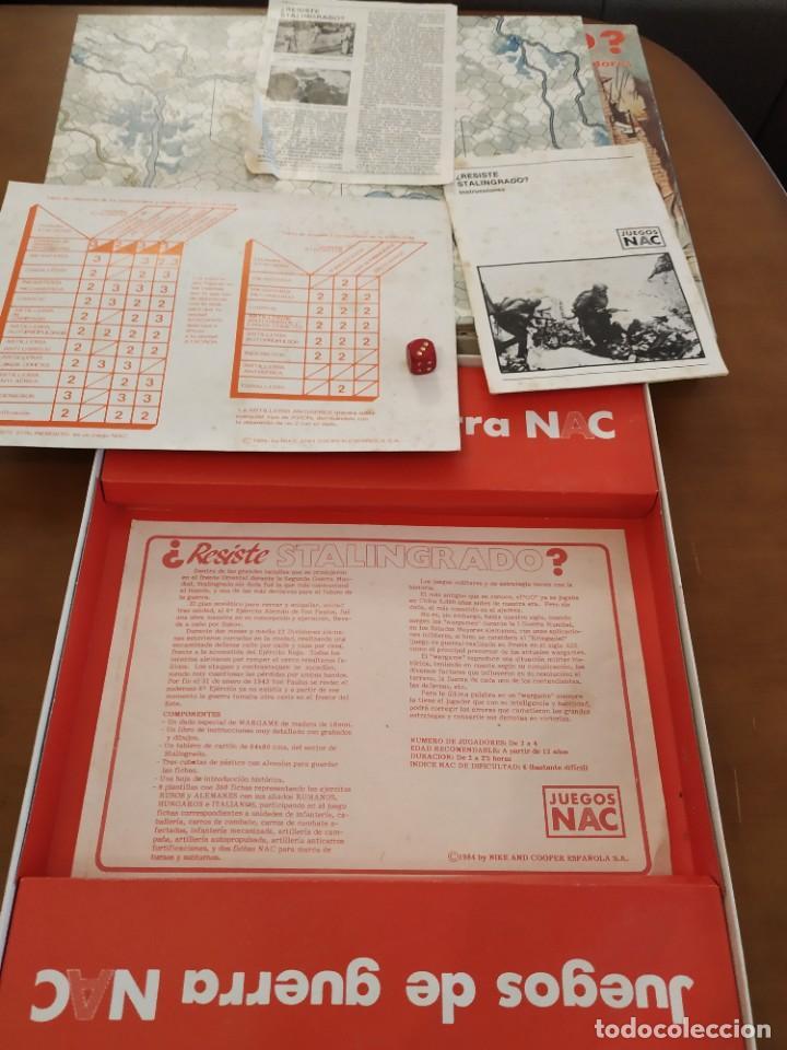 Juegos Antiguos: NAC STALINGRADO RESISTE JUEGO DE MESA - Foto 4 - 219683755