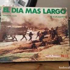 Juegos Antiguos: NAC EL DÍA MAS LARGO JUEGO DE MESA. Lote 219684087