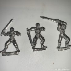Juegos Antiguos: LOTE 3 FIGURAS HARLEQUIN METAL. Lote 219774248