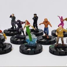 Juegos Antiguos: LOTE 11 HEROCLIX / WIZKIDS 2014 DC COMICS / LA LIGA DE LA JUSTICIA. Lote 220539282