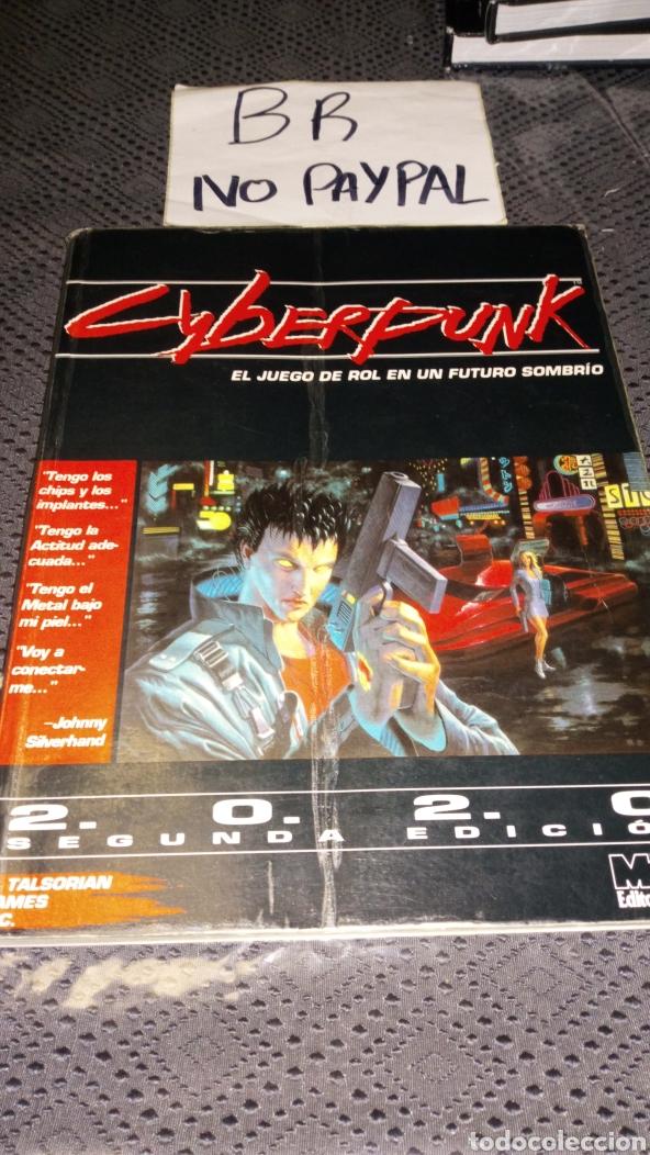 CYBERPUNK EDICIÓN ESPAÑOL 2.0.2.0 SEGUNDA EDICIÓN EL JUEGO DE ROL EN UN FUTURO SOBRIO VER FOTOESTADO (Juguetes - Rol y Estrategia - Juegos de Rol)