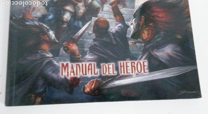 Juegos Antiguos: PATHFINDER- MANUAL DEL HEROE- JUEGO DE ROL- DEVIR -2015 - - Foto 2 - 220626623