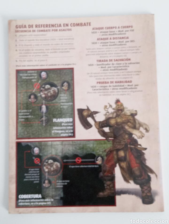 Juegos Antiguos: PATHFINDER- MANUAL DEL HEROE- JUEGO DE ROL- DEVIR -2015 - - Foto 4 - 220626623