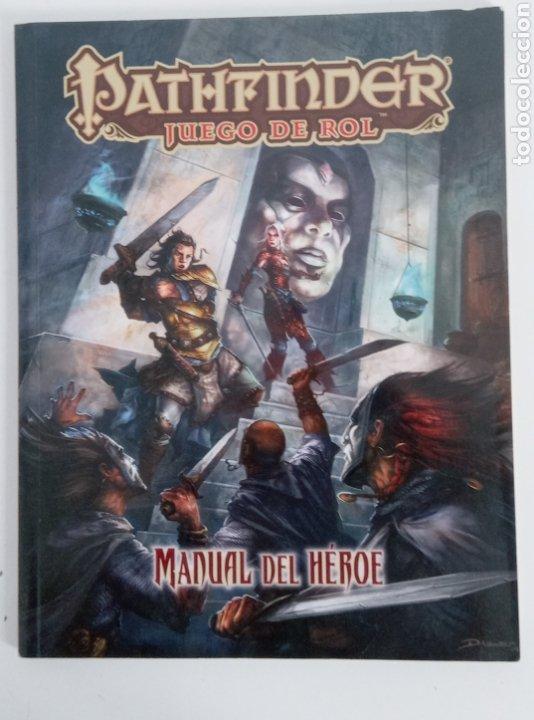 PATHFINDER- MANUAL DEL HEROE- JUEGO DE ROL- DEVIR -2015 - (Juguetes - Rol y Estrategia - Juegos de Rol)