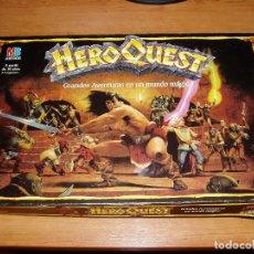 Juegos Antiguos: HEROQUEST MB GAMES WORKSHOP 1989 1990 JUEGO DE MESA EN ESPAÑOL HERO QUEST WARHAMMER. Lote 221345398