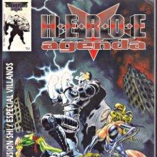 Juegos Antiguos: HEROE AGENDA. LIBRO 2. EXPANSIÓN SUPERHEROES INC. Lote 221842173