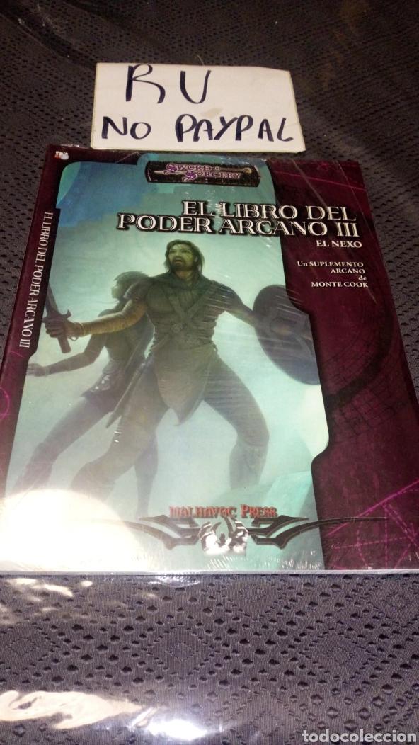 PRECINTADO SWORD SORCERY EL LIBRO DEL PODER ARCANO EL NEXO 3 (Juguetes - Rol y Estrategia - Juegos de Rol)