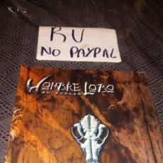 Juegos Antiguos: PANTALLA DEL NARRADOR HOMBRE LOBO EL EXILIO LA FACTORIA DE IDEAS. Lote 221971116