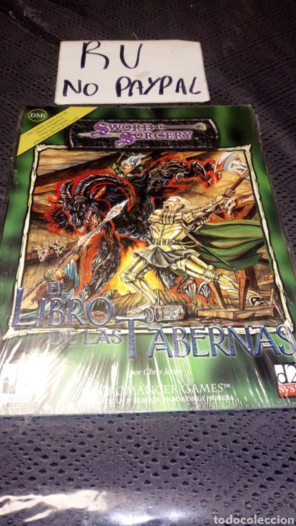 PRECINTADO SWORD SORCERY EL LIBRO DE LAS TABERNAS NECROMANCER LA FACTORIA DE IDEAS (Juguetes - Rol y Estrategia - Juegos de Rol)
