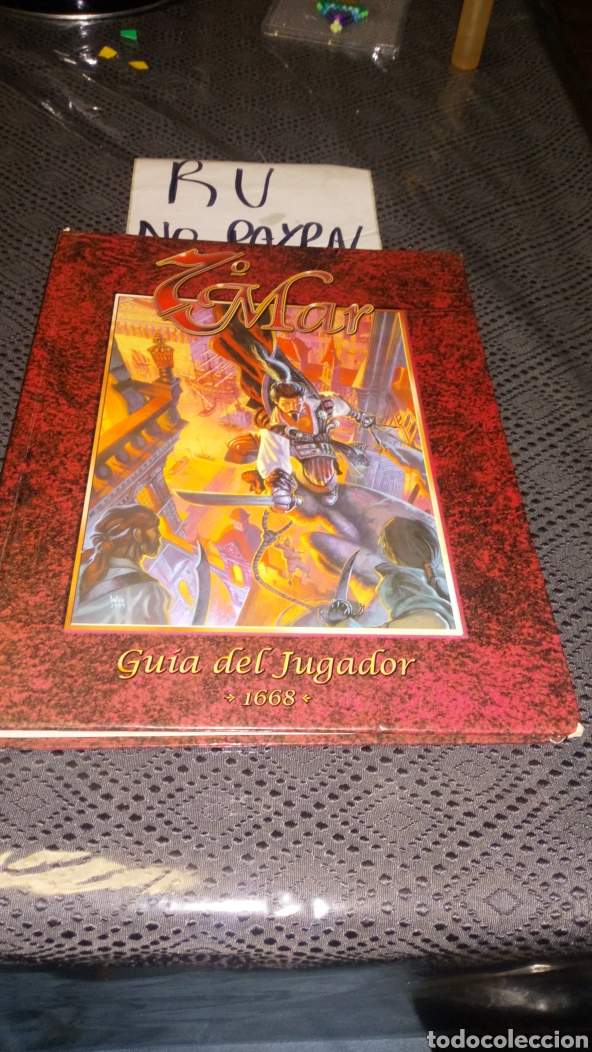 7 MAR GUIA DEL JUGADOR 1668 VER FOTOS ESTADO, LOMO TOCADOS Y ESQUINAS VER FOTOS LA FACTORIA DE IDEAS (Juguetes - Rol y Estrategia - Juegos de Rol)