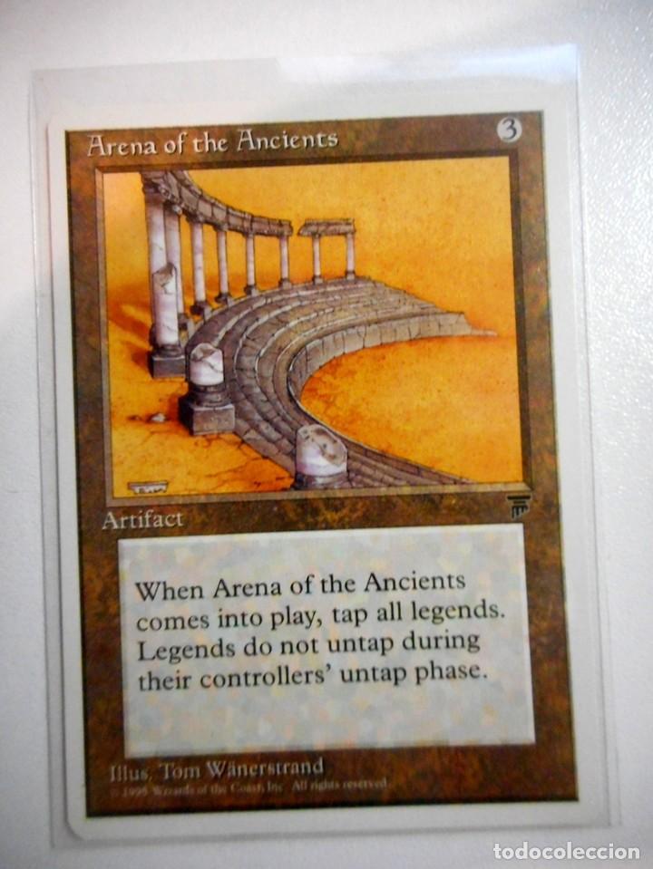 CARTA MAGIC ARENA OF THE ANCIENTS ( LEYENDAS EN INGLÉS ) ARTEFACTO (Juguetes - Rol y Estrategia - Otros)
