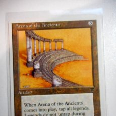 Juegos Antiguos: CARTA MAGIC ARENA OF THE ANCIENTS ( LEYENDAS EN INGLÉS ) ARTEFACTO. Lote 221988033