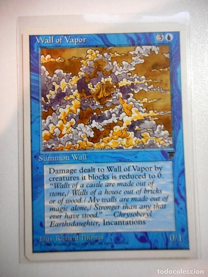 CARTA MAGIC WALL OF VAPOR ( LEYENDAS EN INGLÉS ) ISLA (Juguetes - Rol y Estrategia - Otros)