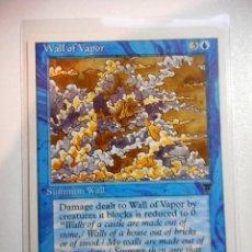 Juegos Antiguos: CARTA MAGIC WALL OF VAPOR ( LEYENDAS EN INGLÉS ) ISLA. Lote 221988175