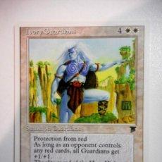 Juegos Antiguos: CARTA MAGIC IVORY GUARDIANS ( LEYENDAS EN INGLÉS ) LLANURA. Lote 221988762