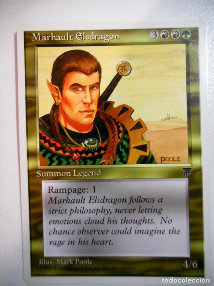 CARTA MAGIC MARHAULT ELSDRAGON ( LEYENDAS EN INGLÉS ) MULTICOLOR (Juguetes - Rol y Estrategia - Otros)