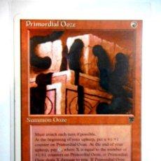 Juegos Antiguos: CARTA MAGIC PRIMORDIAL OOZE ( LEYENDAS EN INGLÉS ) MONTAÑA. Lote 221989708