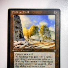 Juegos Antiguos: CARTA MAGIC WALKING WALL ( ERA GLACIAL EN INGLÉS ) ARTEFACTO. Lote 221990461