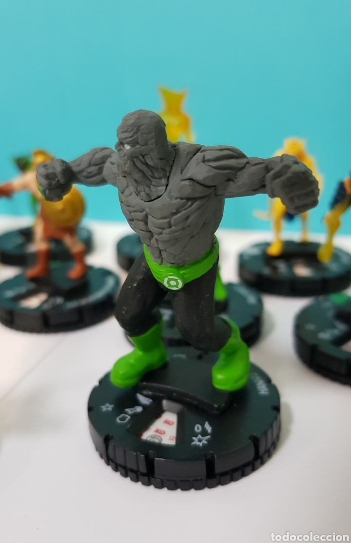Juegos Antiguos: LOTE 17 HEROCLIX - DC COMICS - LA GUERRA DE LA LUZ - WAR OF LIGHT / 2 ORO SUPER RAROS, 2 PLATA RAROS - Foto 5 - 222081068