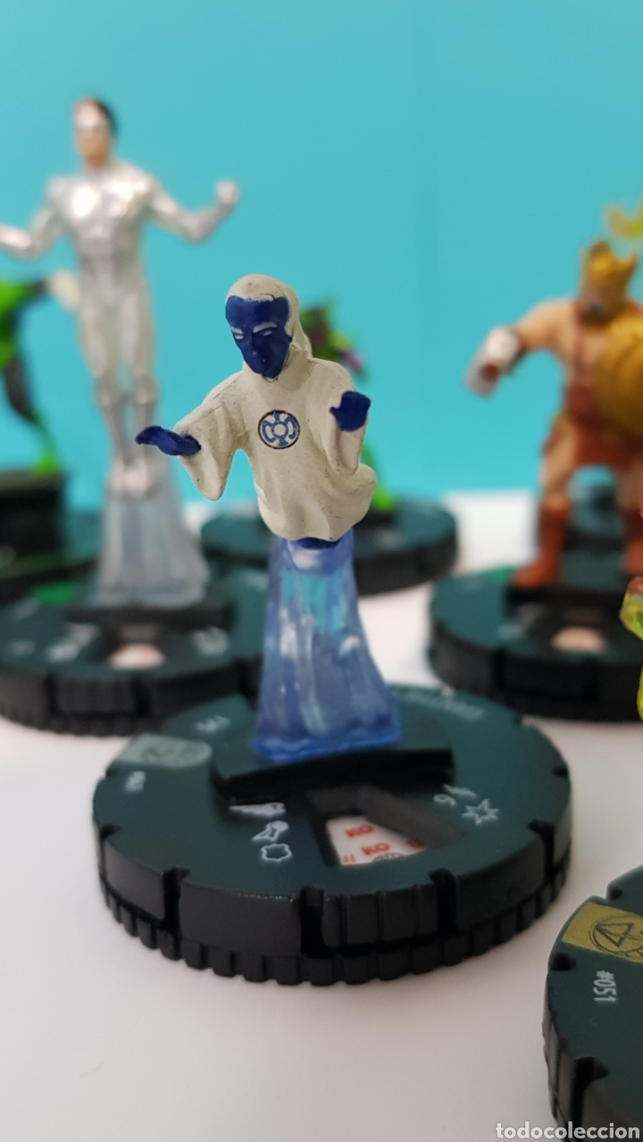 Juegos Antiguos: LOTE 17 HEROCLIX - DC COMICS - LA GUERRA DE LA LUZ - WAR OF LIGHT / 2 ORO SUPER RAROS, 2 PLATA RAROS - Foto 6 - 222081068