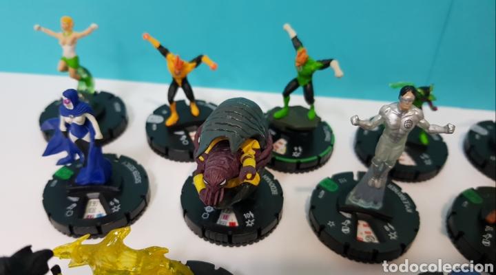 Juegos Antiguos: LOTE 17 HEROCLIX - DC COMICS - LA GUERRA DE LA LUZ - WAR OF LIGHT / 2 ORO SUPER RAROS, 2 PLATA RAROS - Foto 7 - 222081068