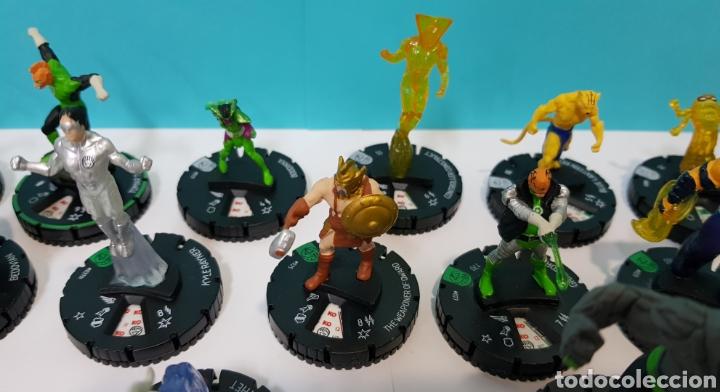 Juegos Antiguos: LOTE 17 HEROCLIX - DC COMICS - LA GUERRA DE LA LUZ - WAR OF LIGHT / 2 ORO SUPER RAROS, 2 PLATA RAROS - Foto 8 - 222081068